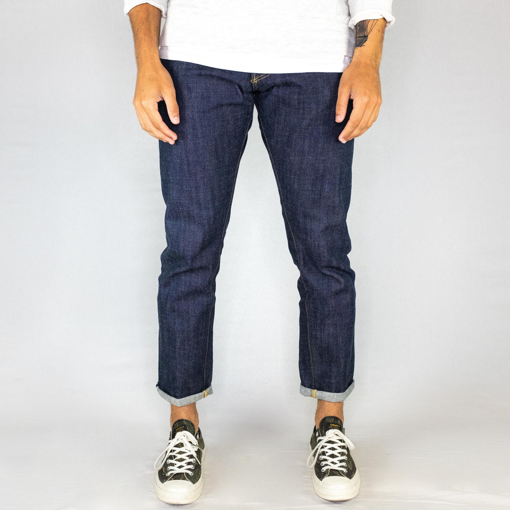 Chet Denim - '301' Taper Fit 14.5oz Slubby Broken Twill Xinjiang Raw Selvedge Denim - Foundry Mens Goods