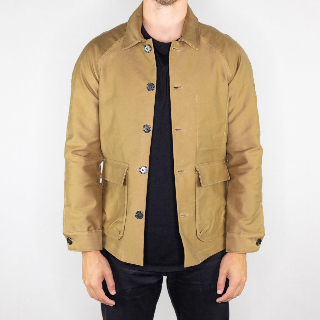 Rogue Territory - Explorer Jacket Khaki Jungle Cloth - Foundry Mens Goods