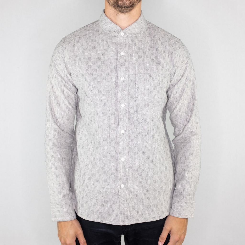 Rogue Territory - Jumper Long Sleeve Shirt Indigo Jacquard