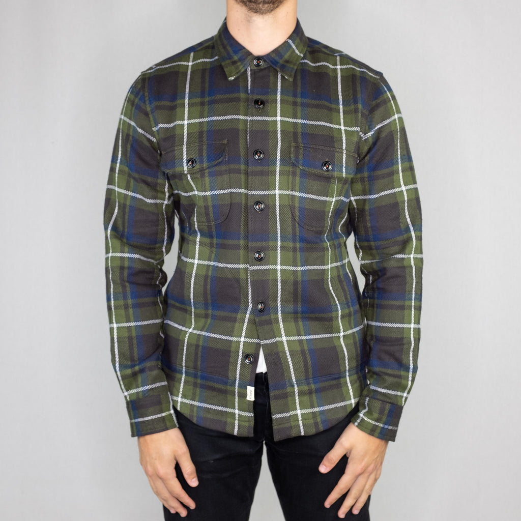 Kato - Anvil Shirt Jacket Heavy Flannel - Foundry Mens Goods