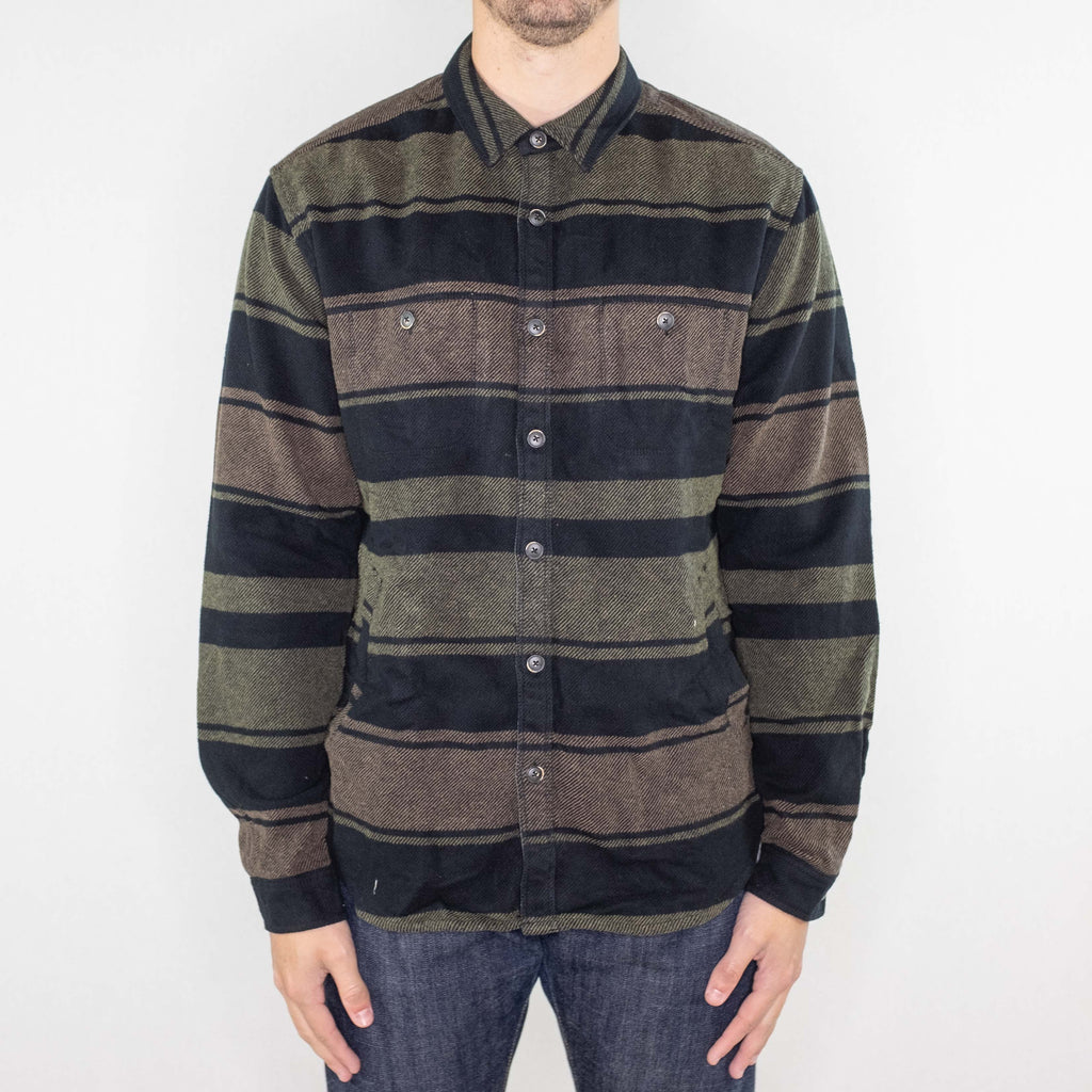 Life After Denim - Mount Royal Shirt Jacket Black - Foundry Mens Goods