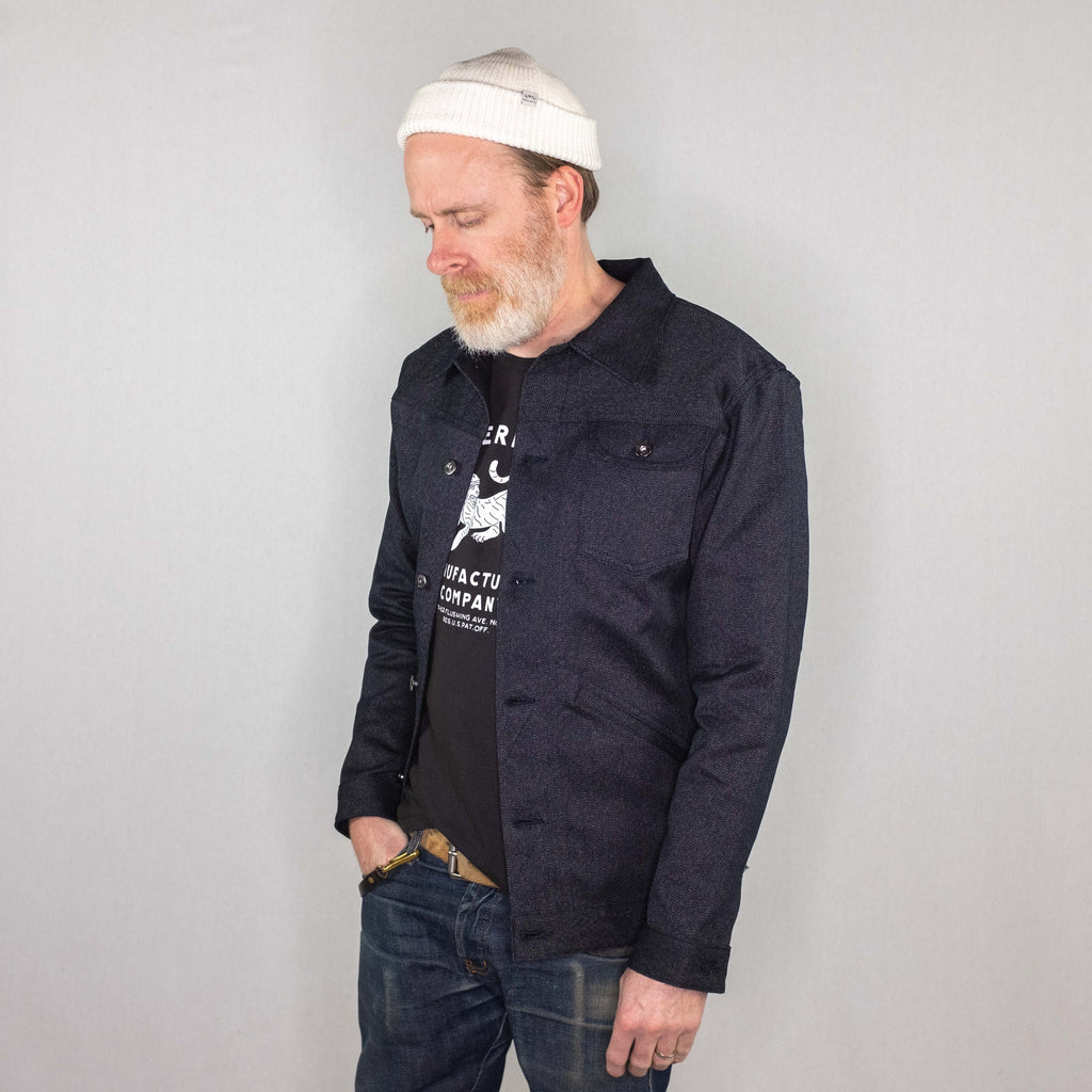 3Sixteen - Ranch Jacket Japanese Salt & Pepper - Foundry Mens Goods