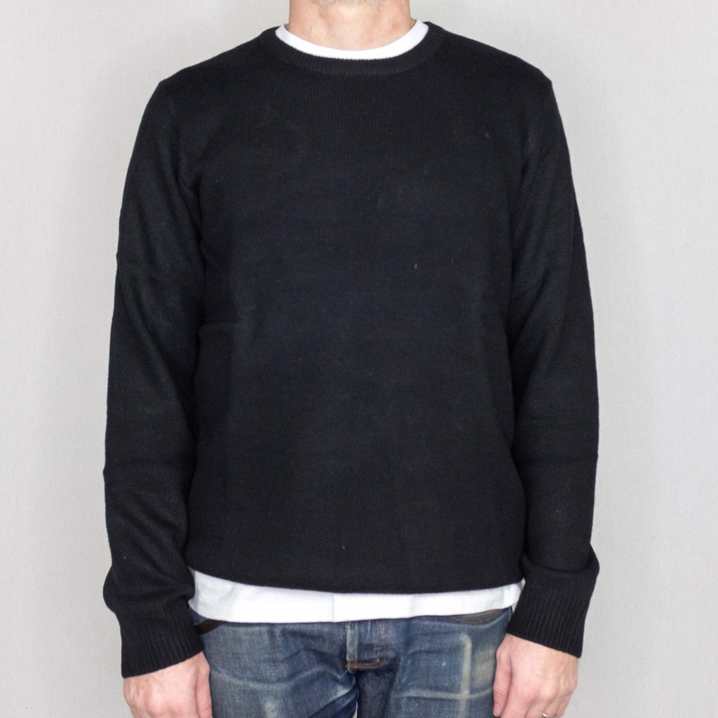 Carhartt WIP - Allen Sweater Black - Foundry Mens Goods