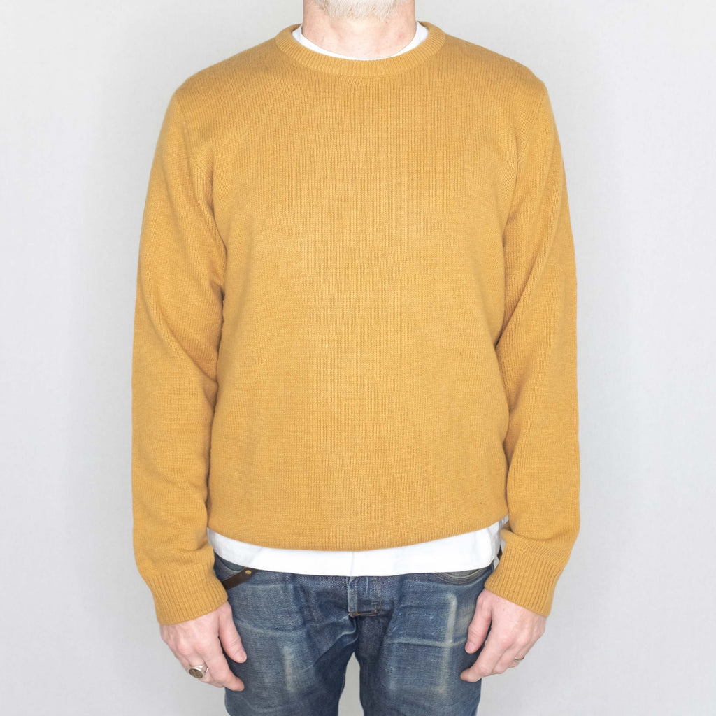 Carhartt WIP - Allen Sweater Fawn - Foundry Mens Goods