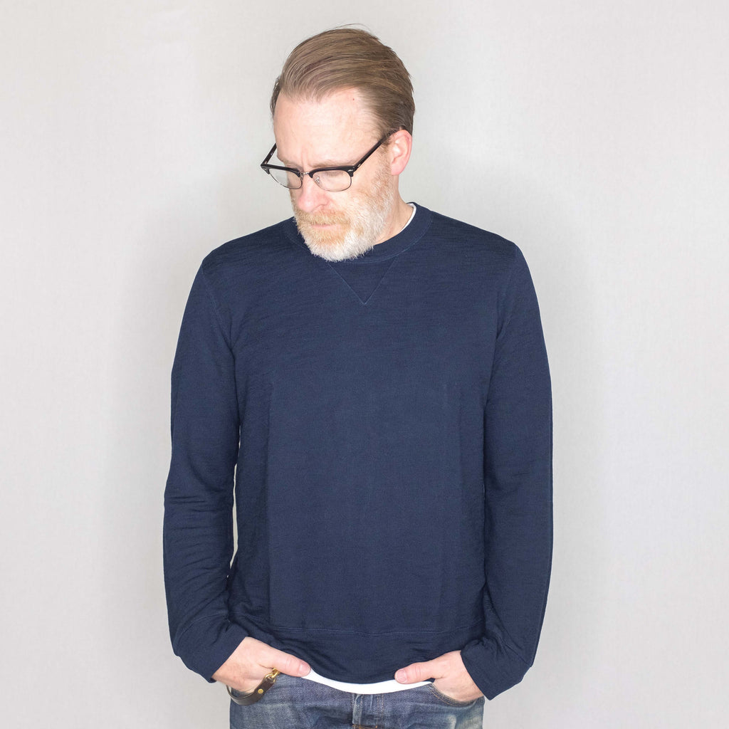 Monrow - Super Soft Crew Neck Sweatshirt Inca