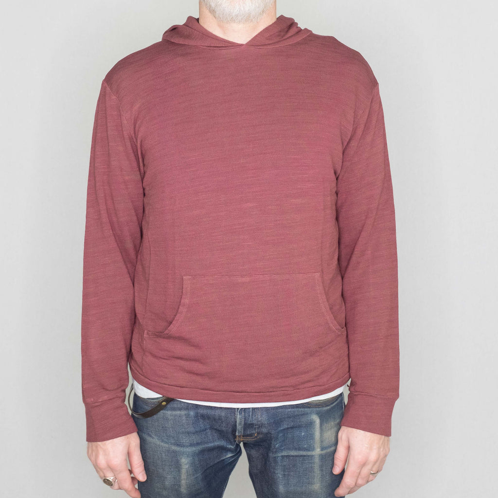 Monrow - Supersoft Pullover Sweatshirt Dusty Maroon - Foundry Mens Goods