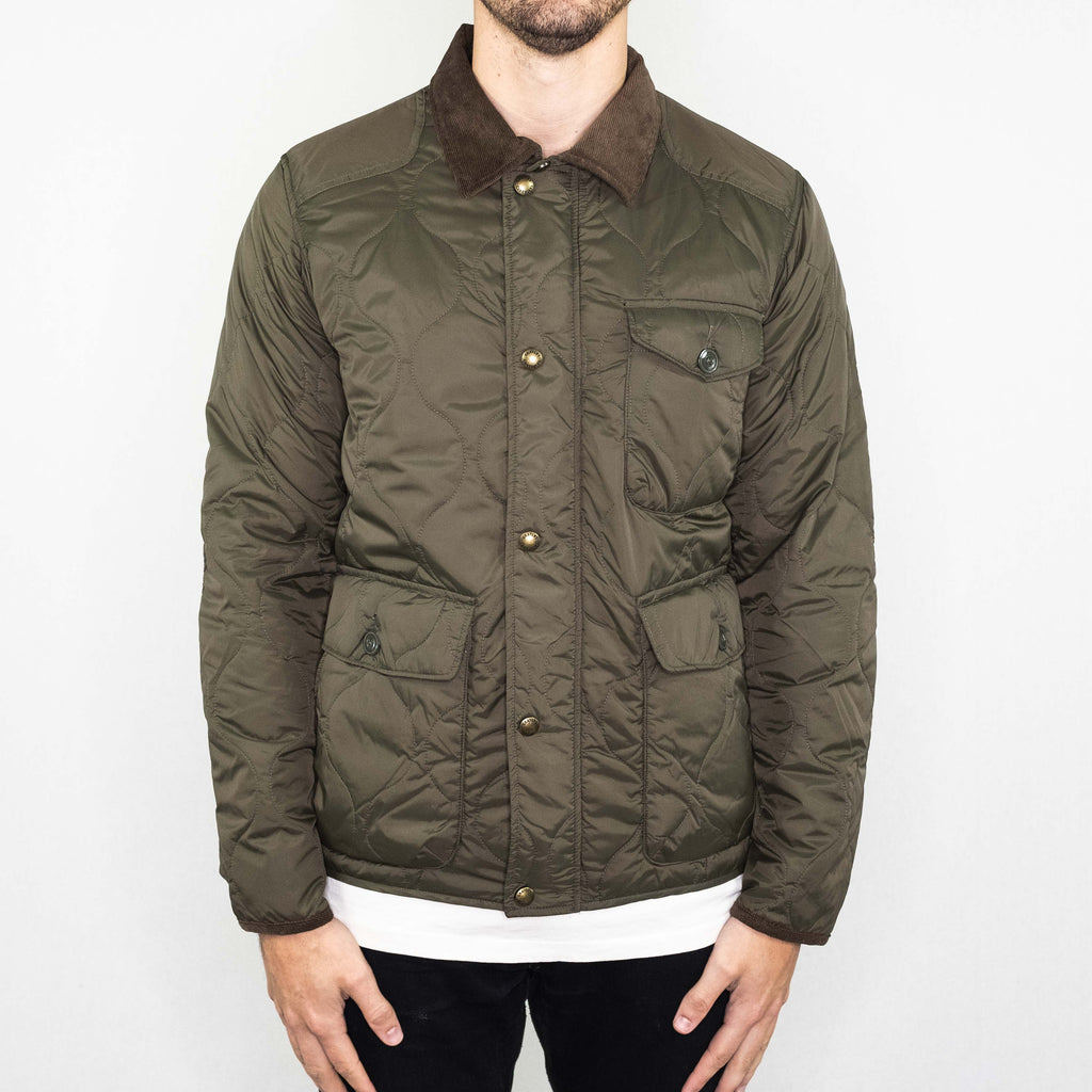 Grayers - Andrew Light Weight Quilted Jacket Olive - Foundry Mens Goods