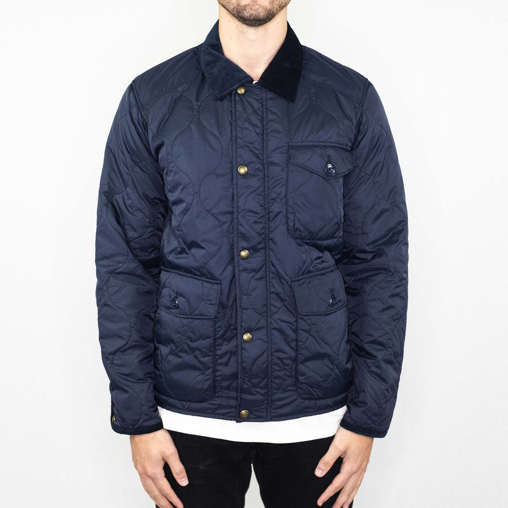 Grayers - Andrew Light Weight Quilted Jacket Navy - Foundry Mens Goods