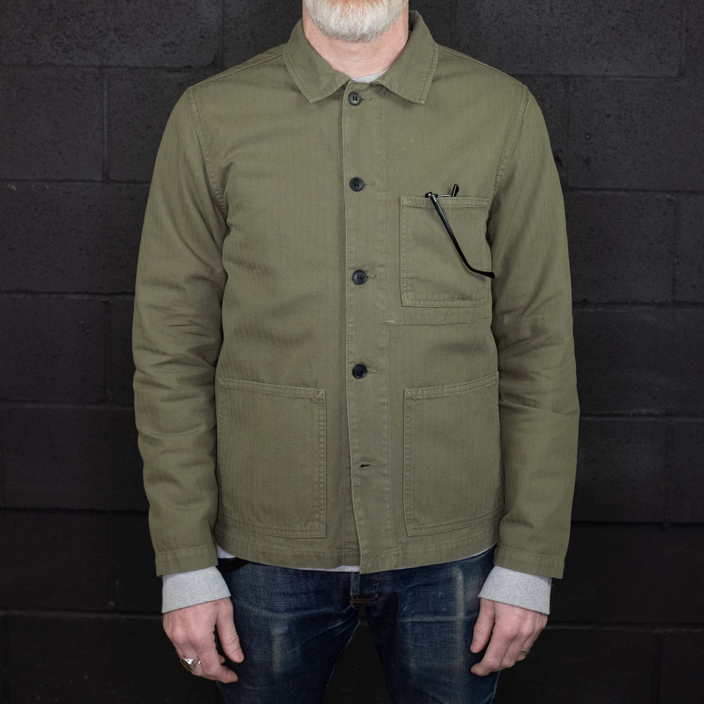 Knickerbocker MFG - Worker Coat Mil. Olive - Foundry Mens Goods