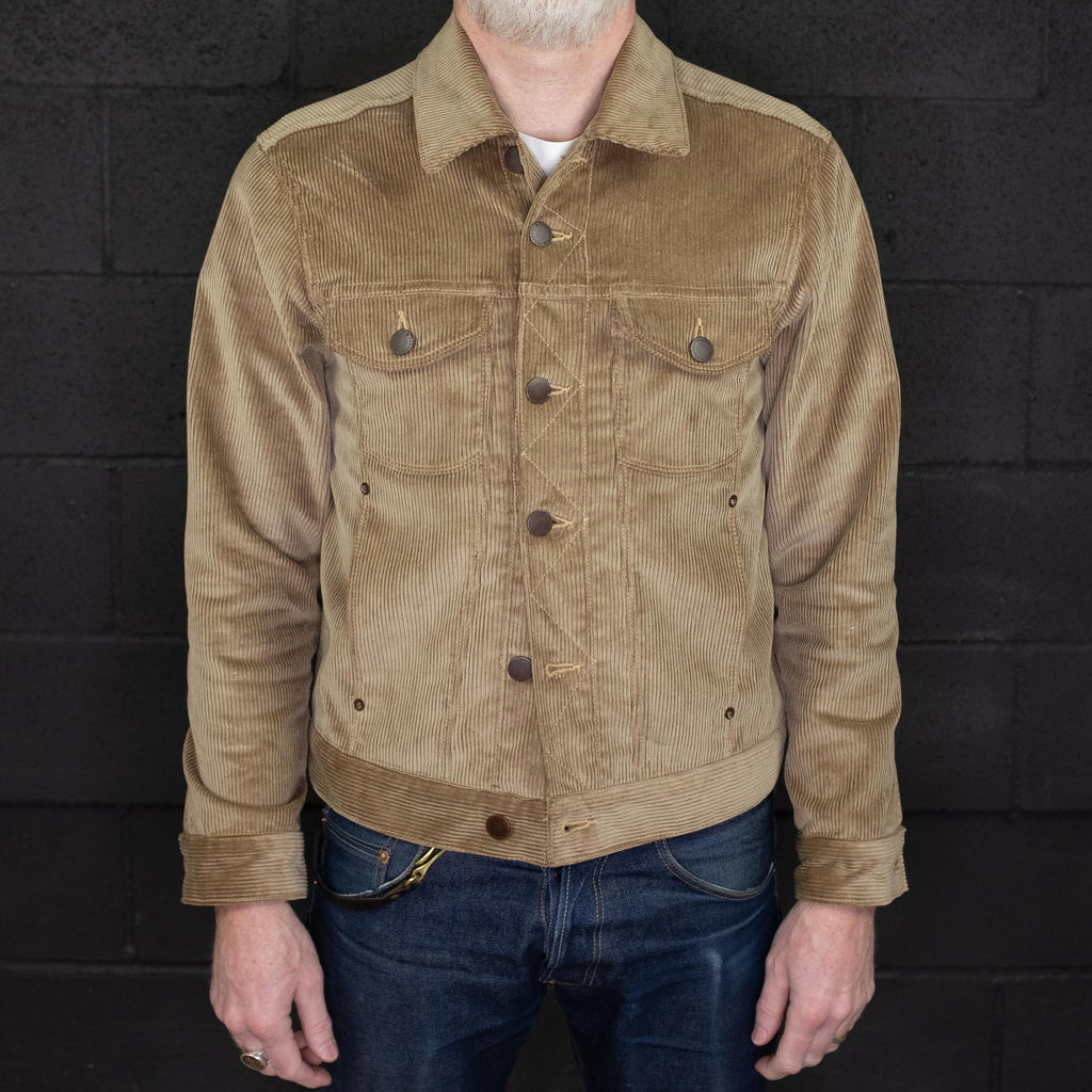 Freenote Cloth - CD1 7 Wale Corduroy Jacket - Foundry Mens Goods