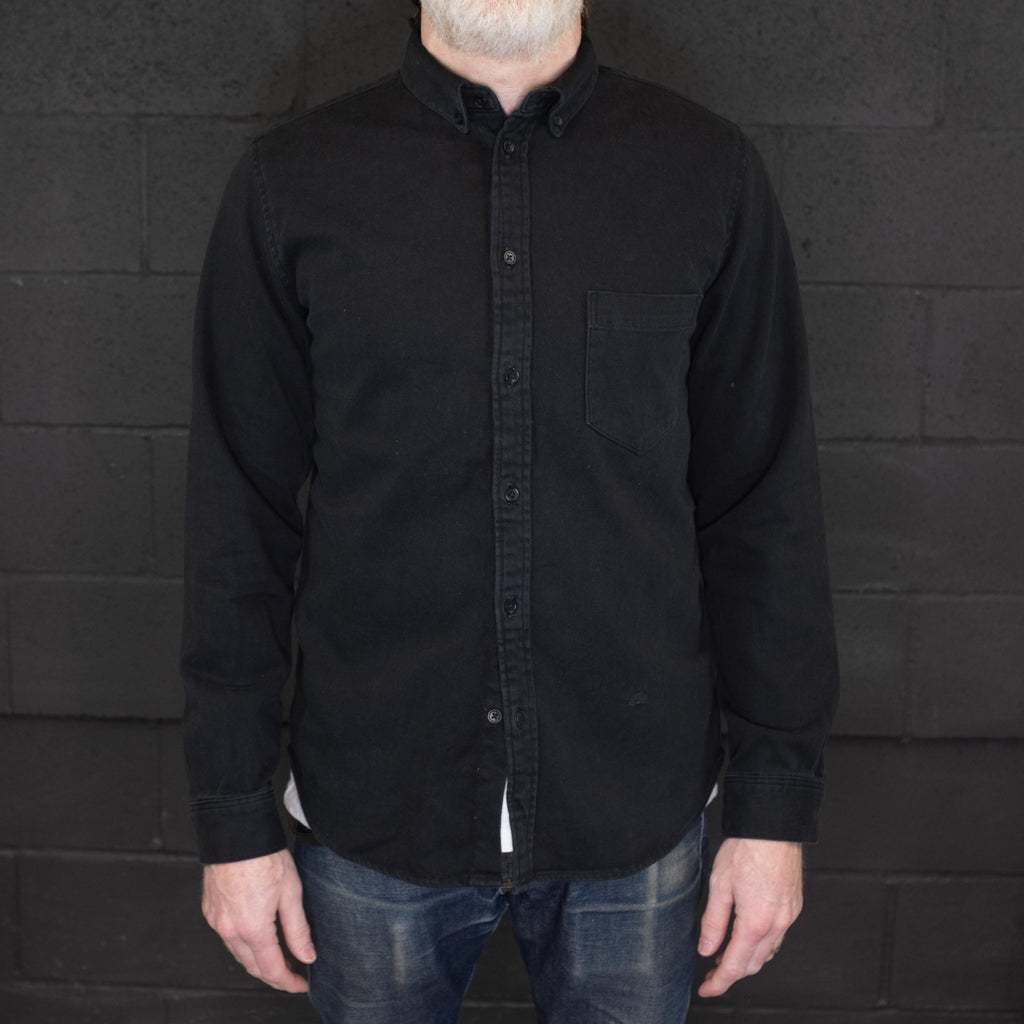 Levi's Made & Crafted - Standard Shirt Black - Foundry Mens Goods