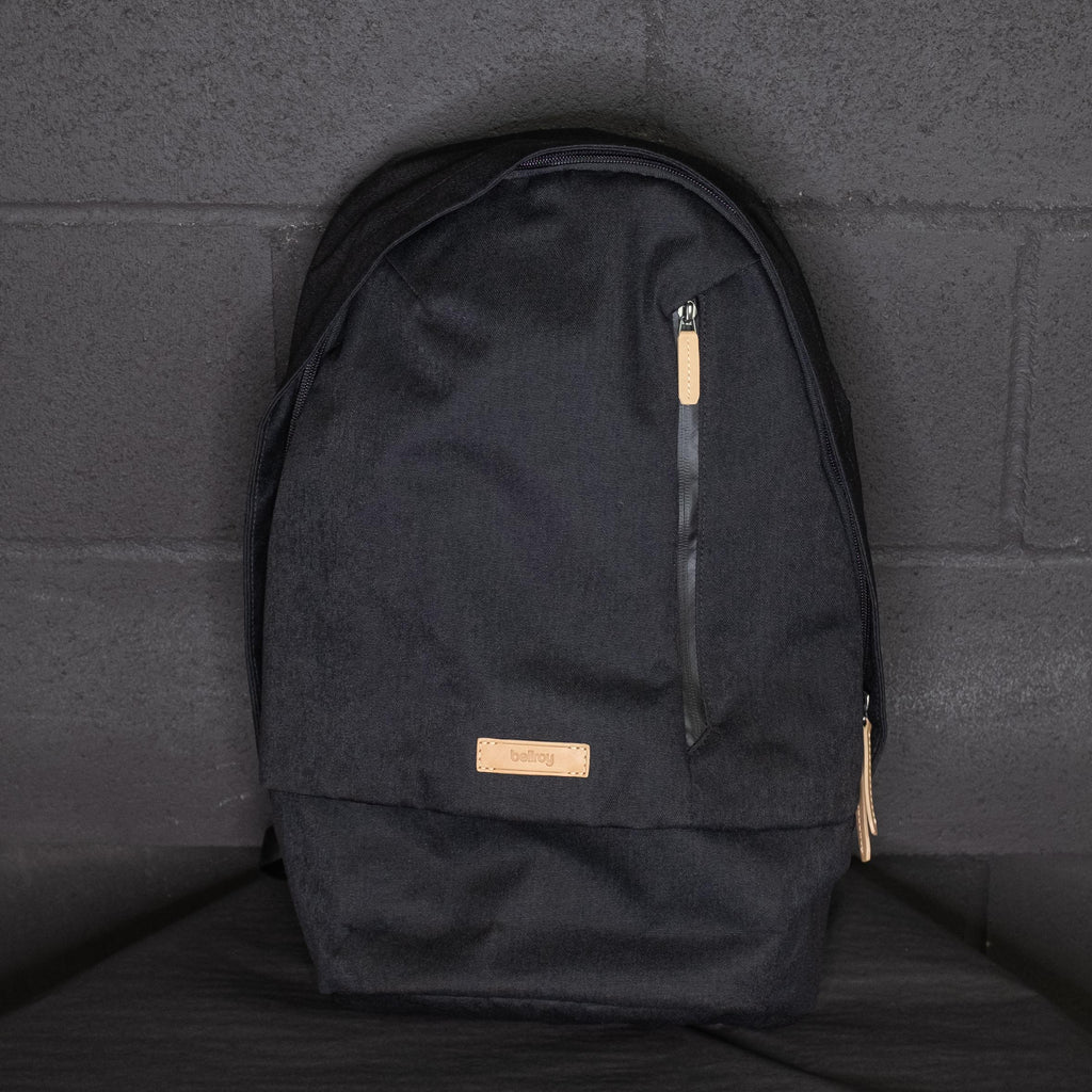 Bellroy - Campus Backpack Black - Foundry Mens Goods