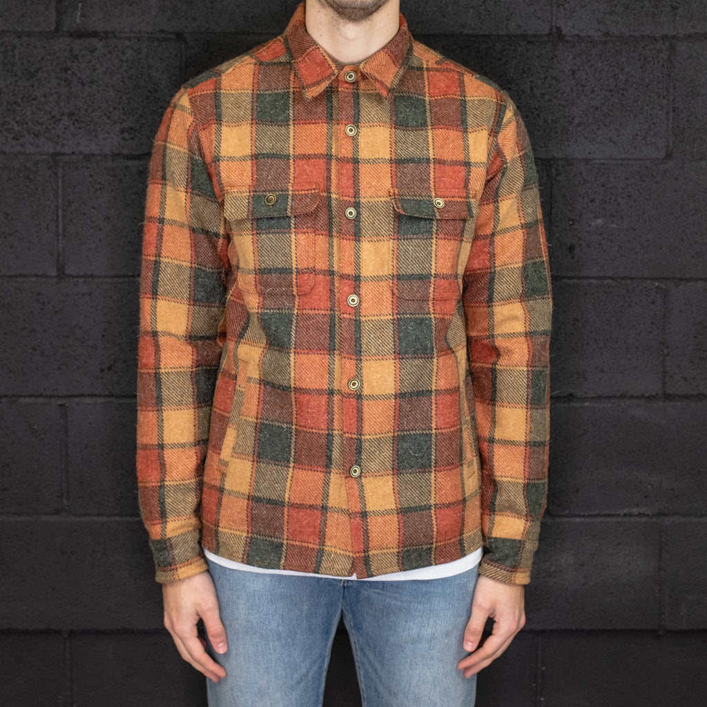 Freenote Cloth - Alta Overshirt Sierra Orange - Foundry Mens Goods
