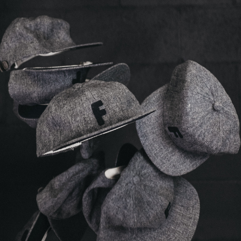 Foundry x Knickerbocker Mfg Hat Grey - Foundry Mens Goods