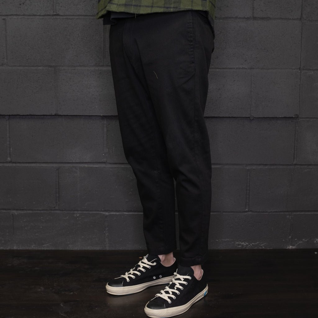 Banks Journal - Downtown Pant Cropped Dirty Black - Foundry Mens Goods