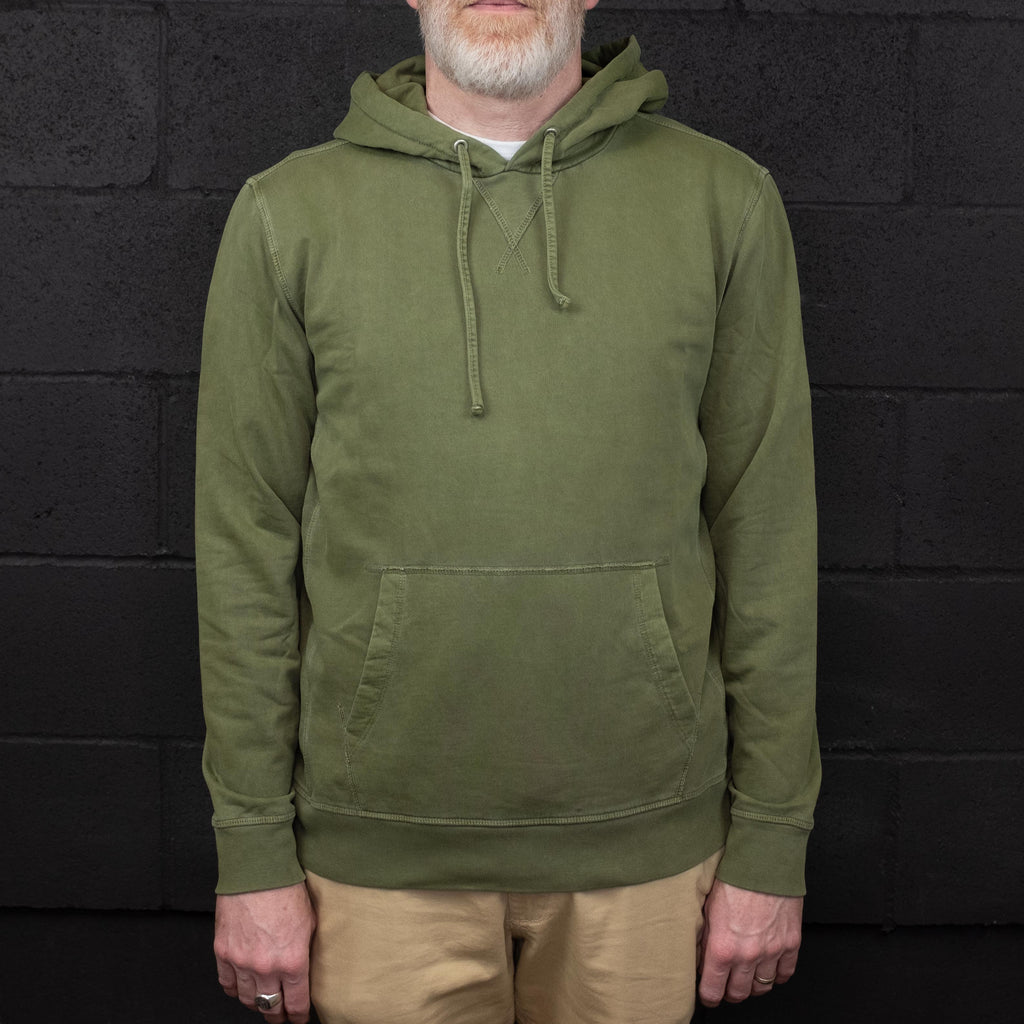 Outerknown - Stowaway Hoodie Sage - Foundry Mens Goods