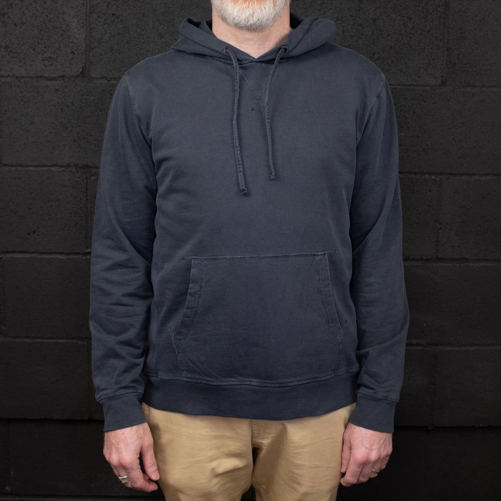 Outerknown - Stowaway Hoodie Blue - Foundry Mens Goods