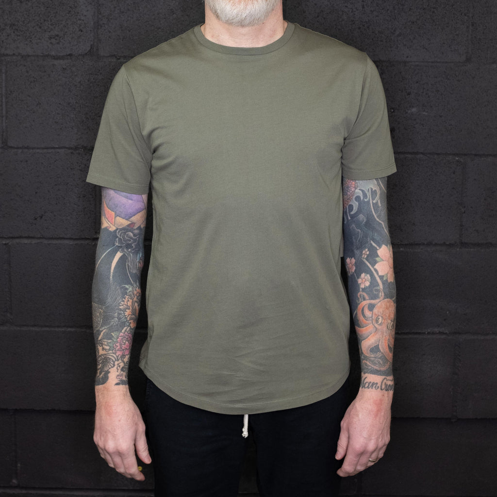 Life After Denim - Short Sleeve Tee Olive - Foundry Mens Goods
