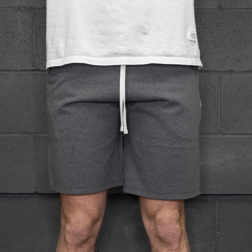 Reigning Champ - Midweight Terry Sweatshort Charcoal - Foundry Mens Goods