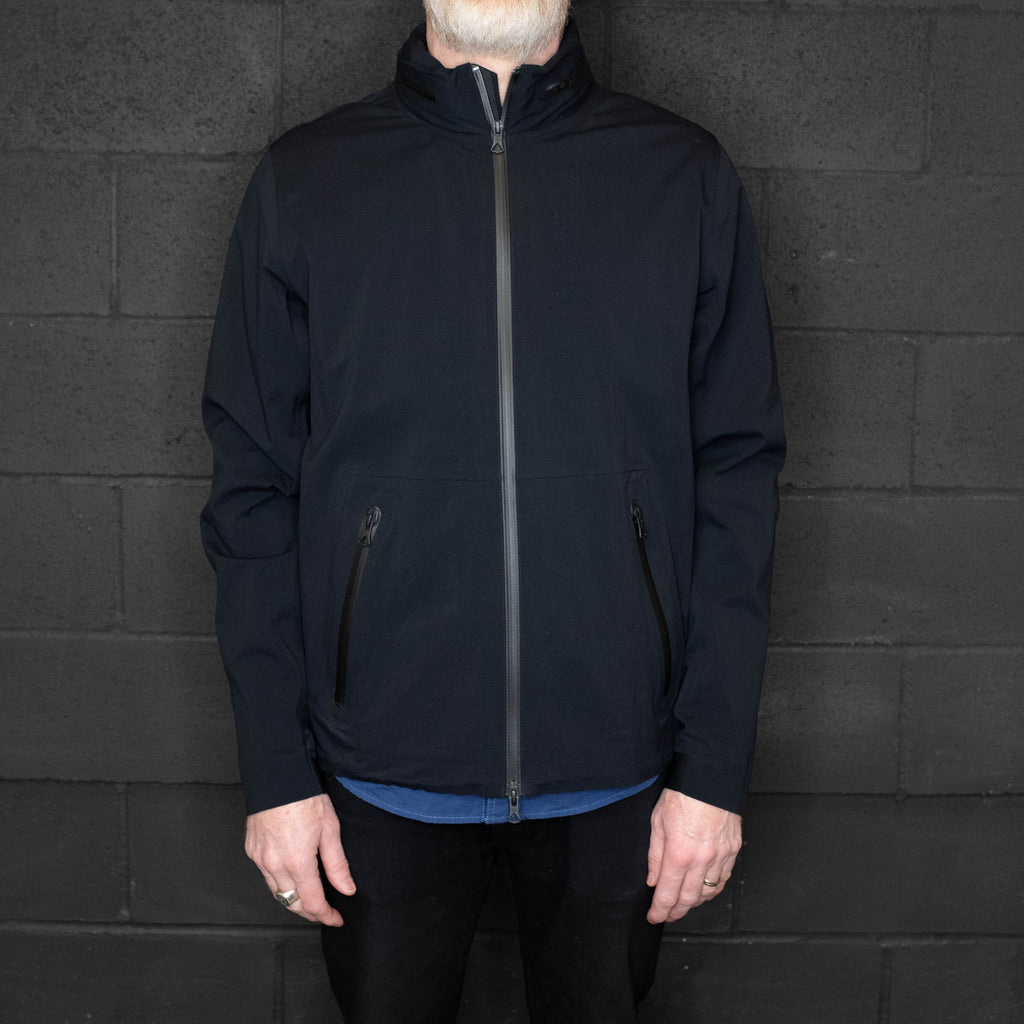 Reigning Champ - Stow Away Hood Jacket Black - Foundry Mens Goods