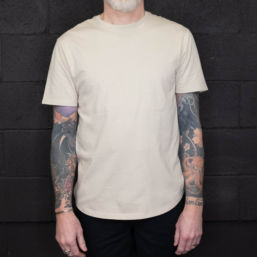 Life After Denim - Short Sleeve Tee Birch - Foundry Mens Goods