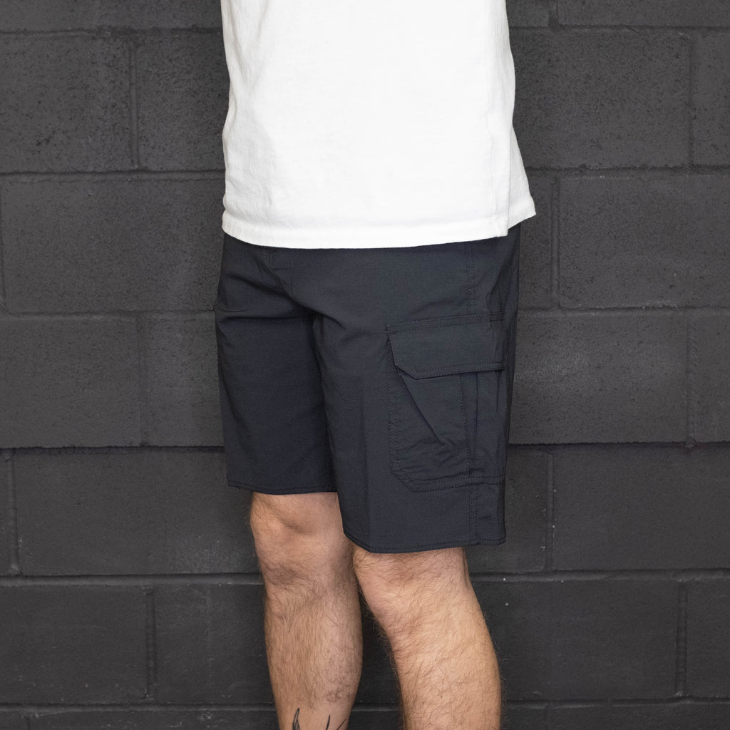 Brixton - Transport 20 Cargo Short Black - Foundry Mens Goods