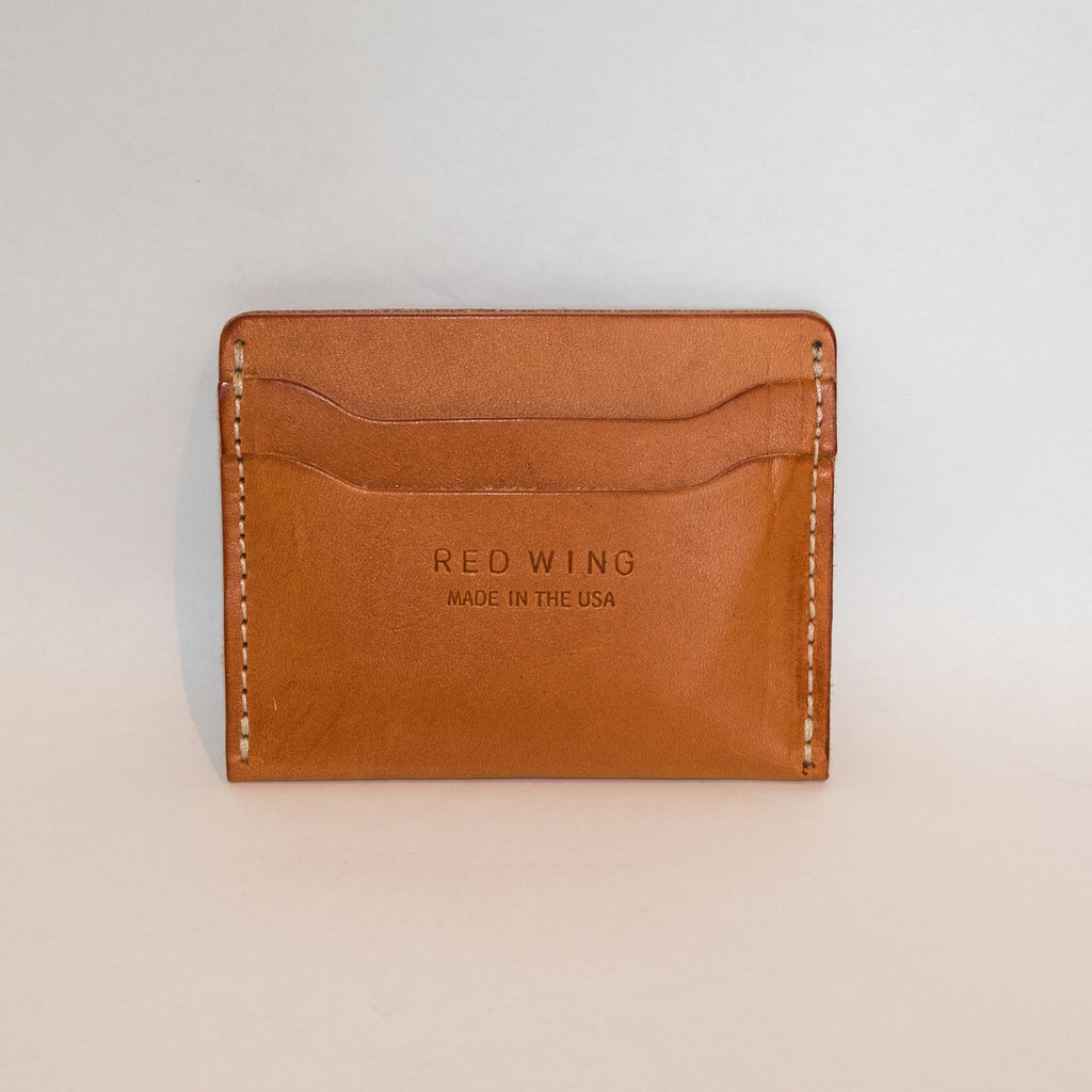 Red Wing Card Holder London Tan - Foundry Mens Goods