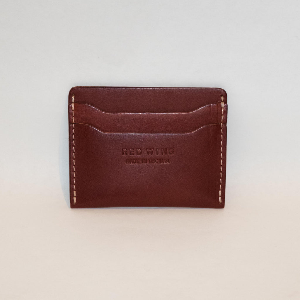 Red Wing Card Holder Oro Russet - Foundry Mens Goods