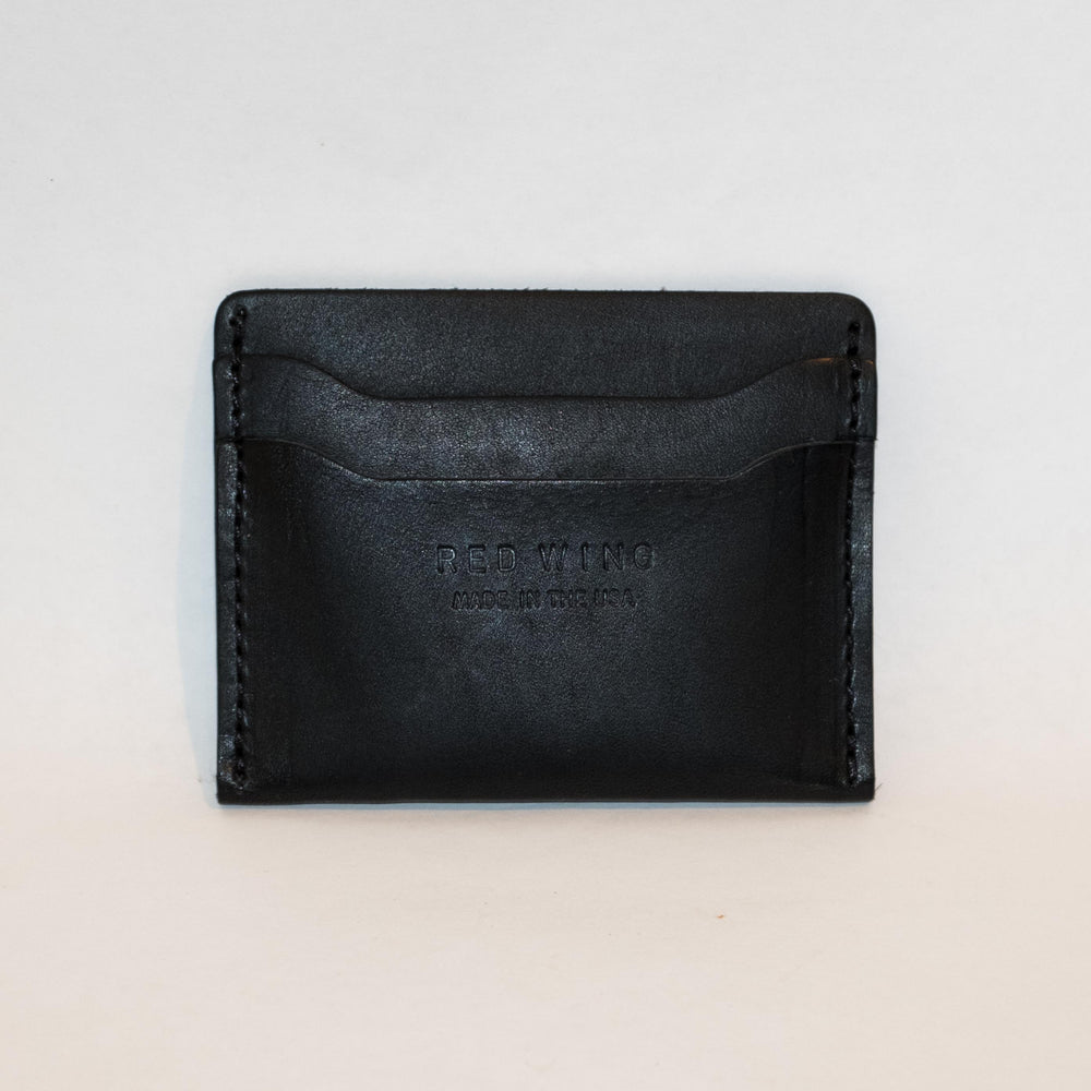 Red Wing Card Holder Black Frontier - Foundry Mens Goods