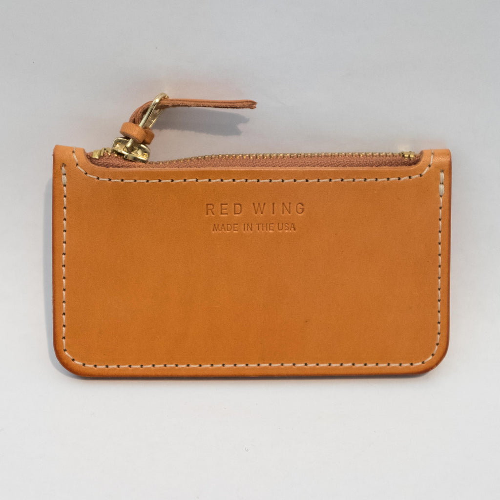 Red Wing Zipper Pouch London Tan - Foundry Mens Goods