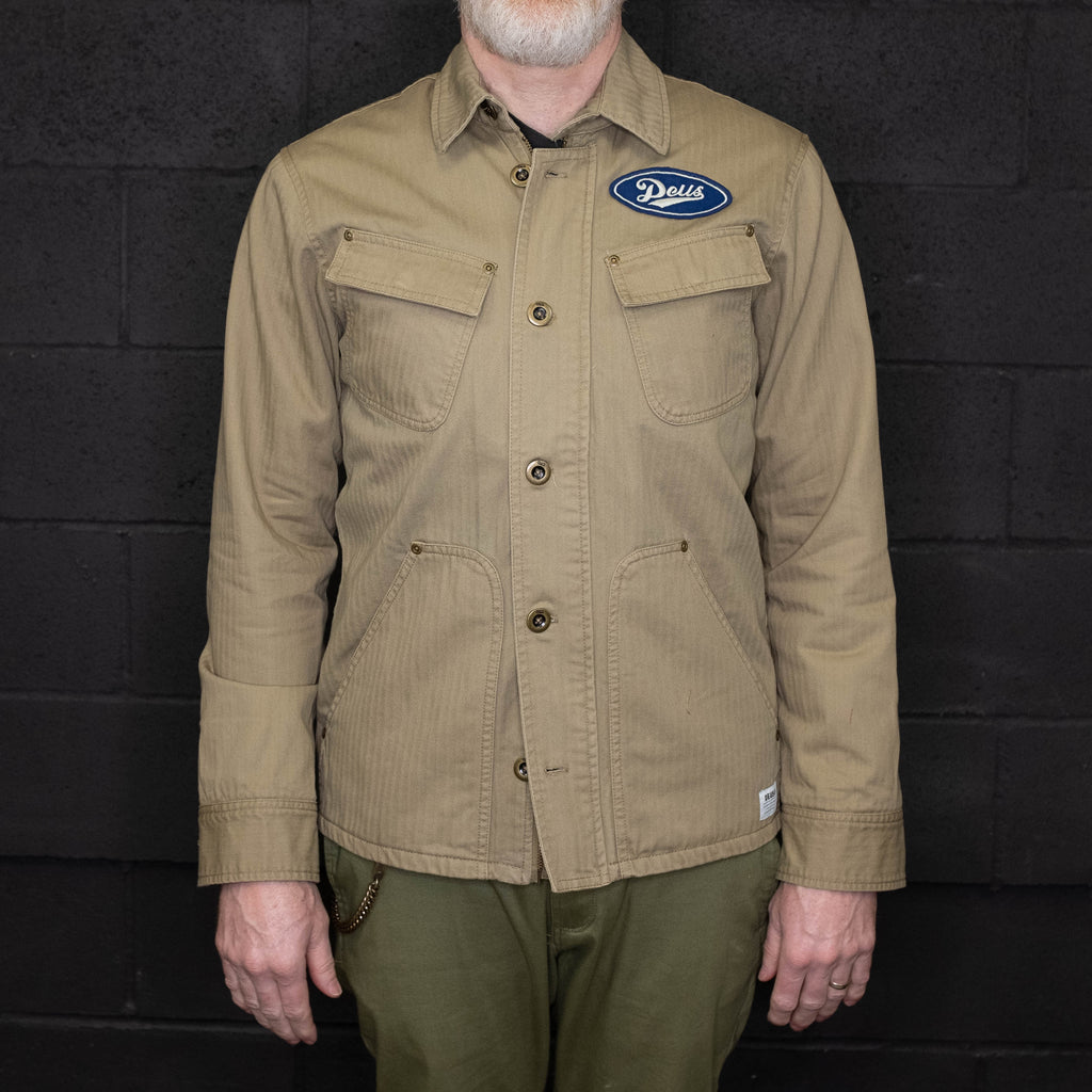 Deus Ex Machina - The Troop Overshirt Khaki - Foundry Mens Goods