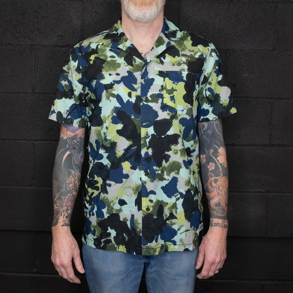 Banks Journal - Business & Pleasure Co Camo Short Sleeve Shirt - Foundry Mens Goods