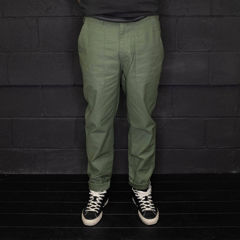 Deus Ex Machina - Harris Fatigue Pant Clover - Foundry Mens Goods