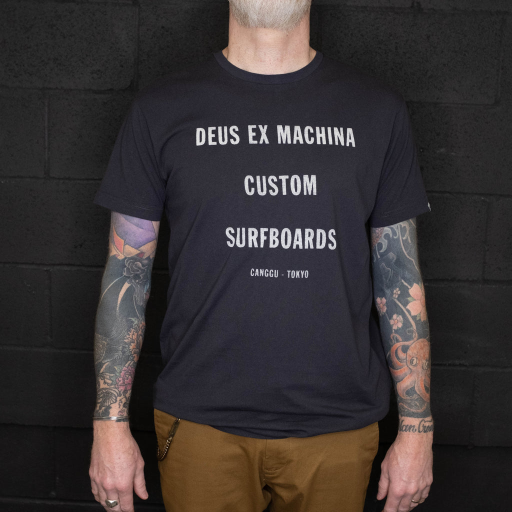Deus Ex Machina - Tanner Tee Black - Foundry Mens Goods