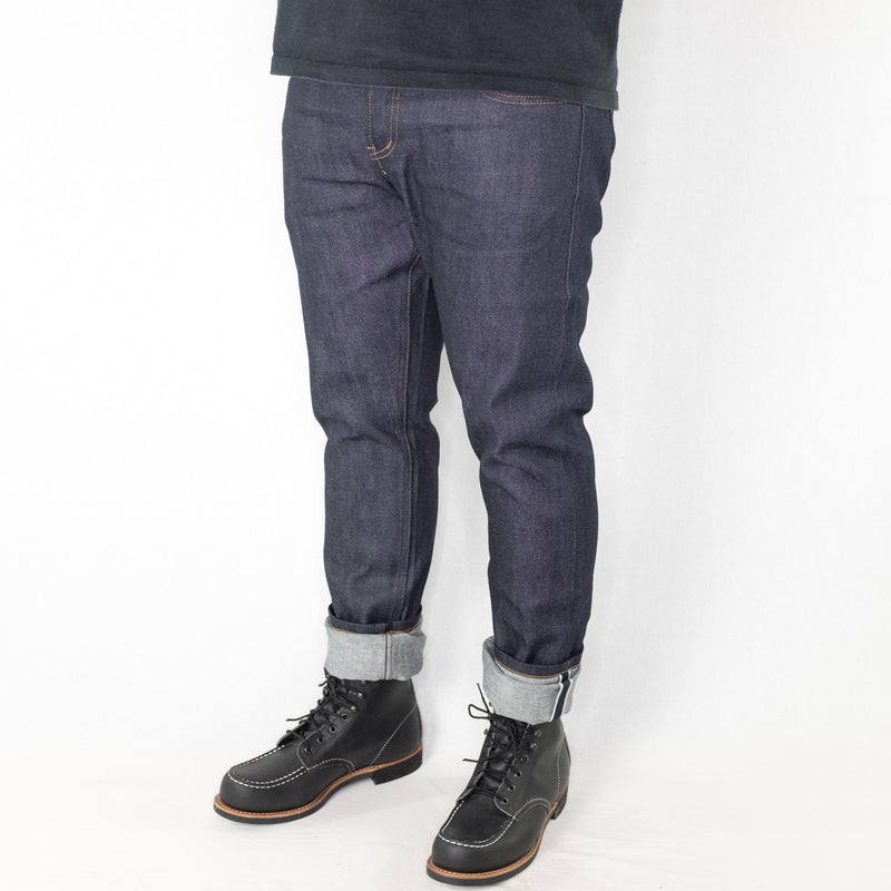 Unbranded - UB422 Tight Fit 11oz Indigo Stretch Selvedge Denim