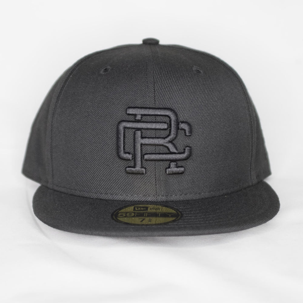 Reigning Champ - Embroidered New Era Hat Black - Foundry Mens Goods