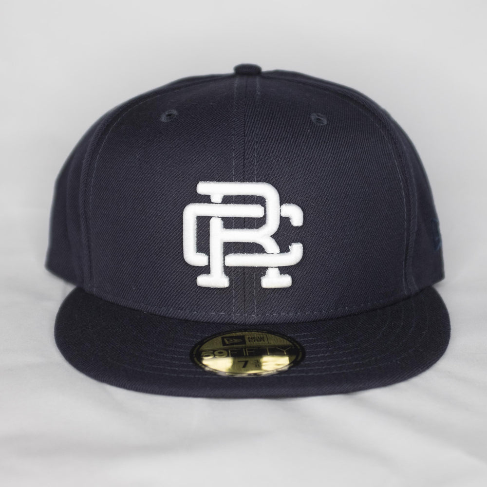 Reigning Champ - Embroidered New Era Hat Navy - Foundry Mens Goods