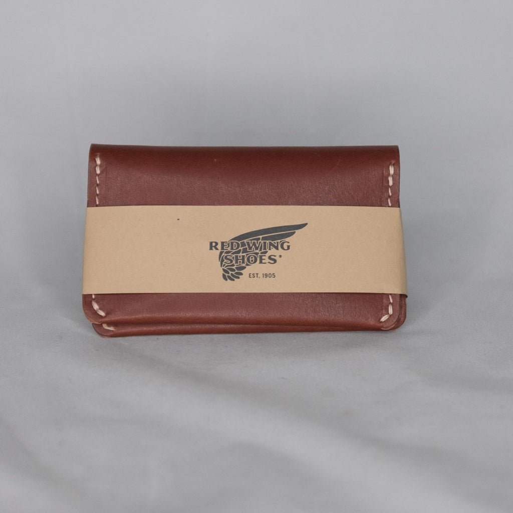 Red Wing Heritage Card Holder Wallet Oro Russett - Foundry Mens Goods