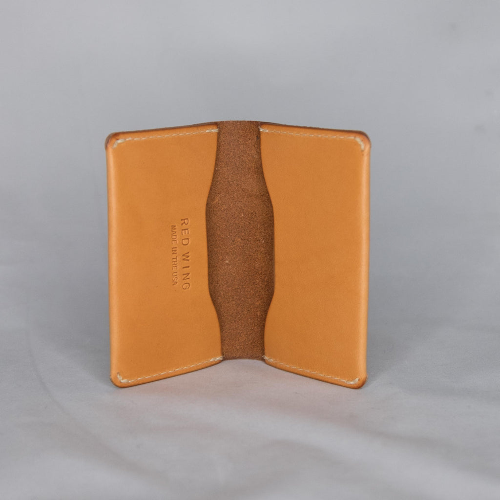 Red Wing Heritage Card Holder Wallet London Tan - Foundry Mens Goods