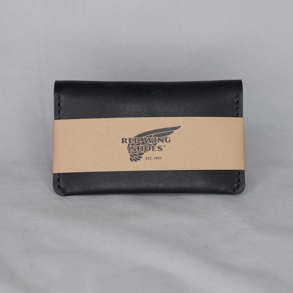 Red Wing Heritage Card Holder Wallet Black Frontier - Foundry Mens Goods