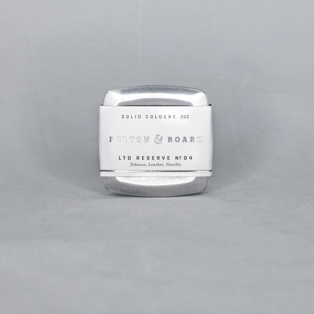 Fulton & Roark - Sterling Solid Cologne - Foundry Mens Goods