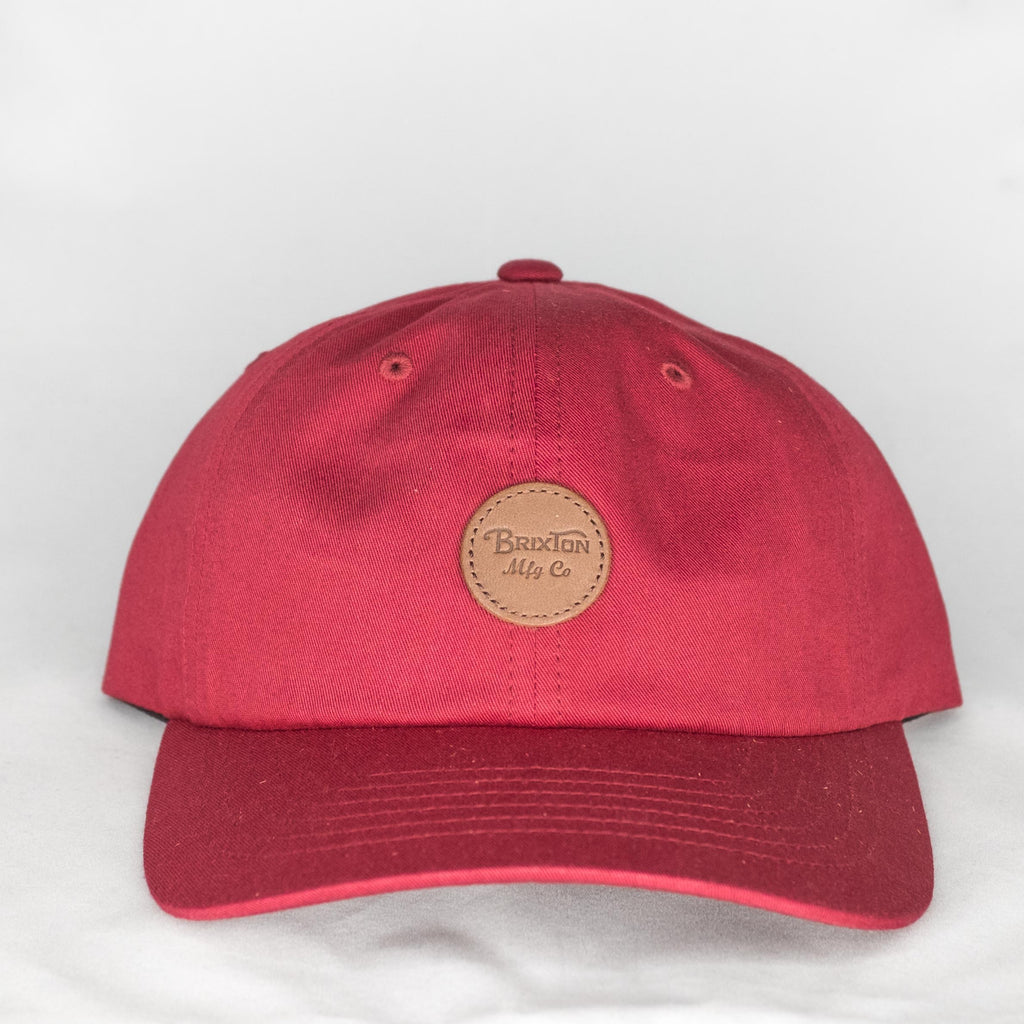 Brixton - Wheeler MP Cap Burgundy - Foundry Mens Goods