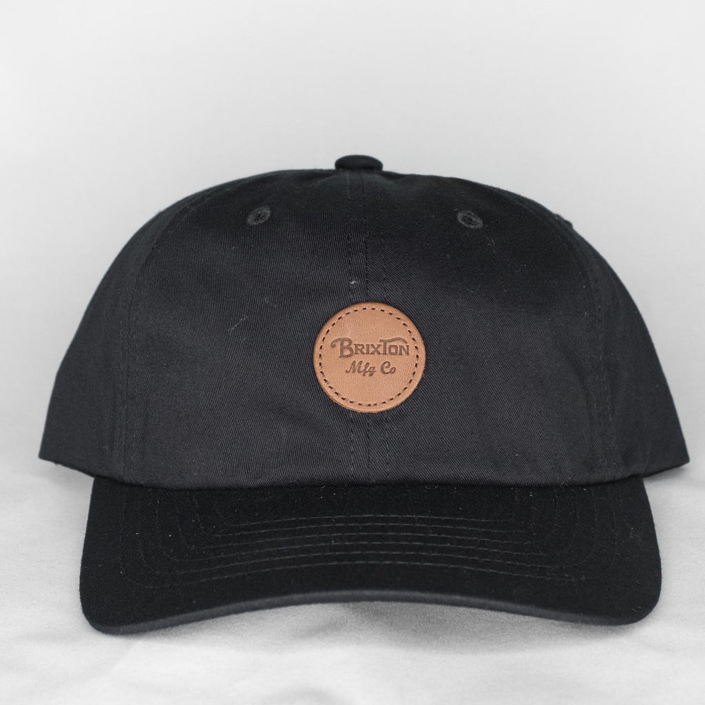 Brixton - Wheeler MP Cap Black - Foundry Mens Goods