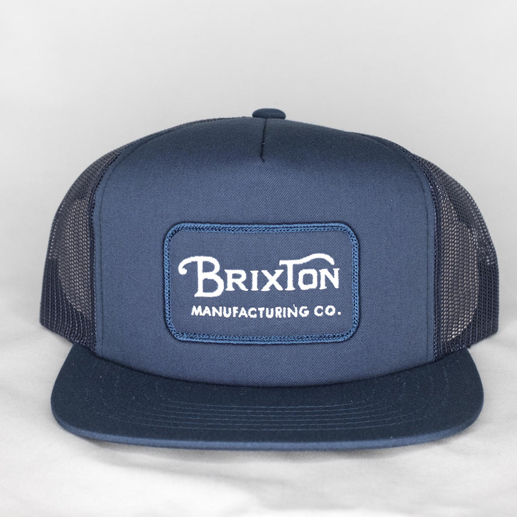 Brixton - Grade Mesh Cap Light Navy - Foundry Mens Goods