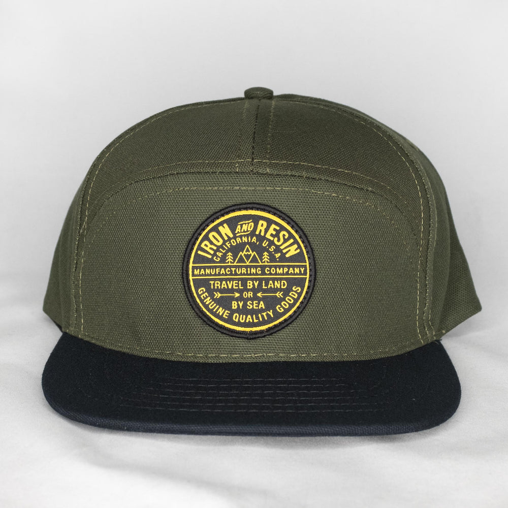 Iron and Resin - Del Norte Hat Forest - Foundry Mens Goods