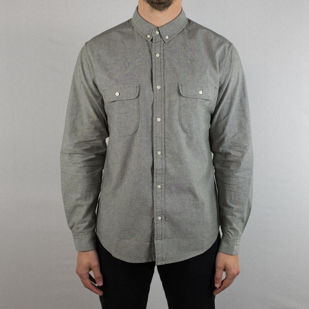 Life After Denim - Scout Shirt Long Sleeve Olive - Foundry Mens Goods