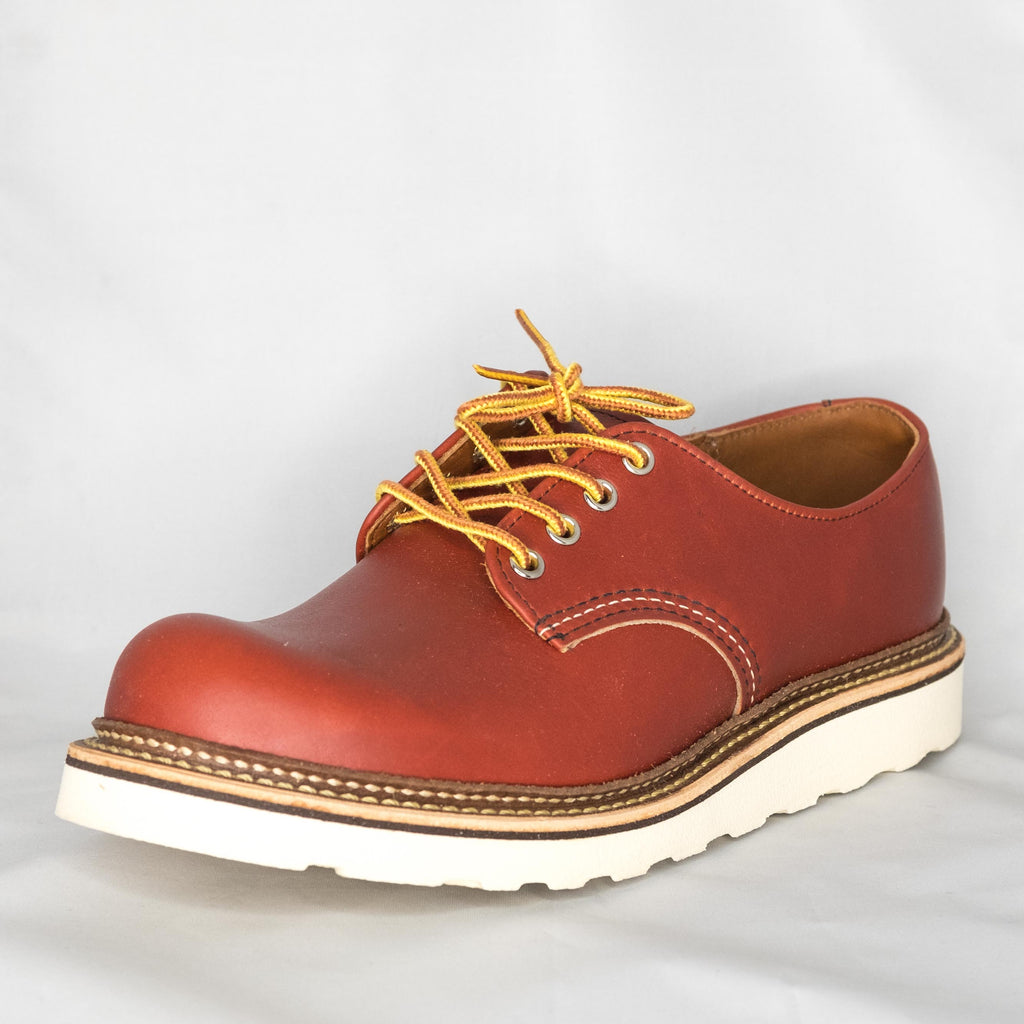 Red Wing Heritage - 8001 Classic Oxford Oro Russet Portage Leather - Foundry Mens Goods