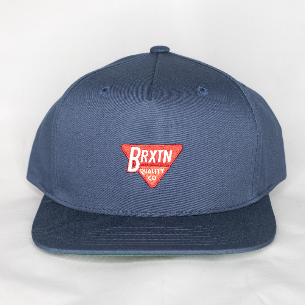 Brixton - Norton Snapback Washed Navy - Foundry Mens Goods