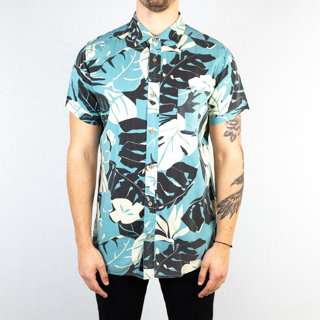 Deus Ex Machina - Ralph Morning Shirt Short Sleeve Leaf Floral - Foundry Mens Goods