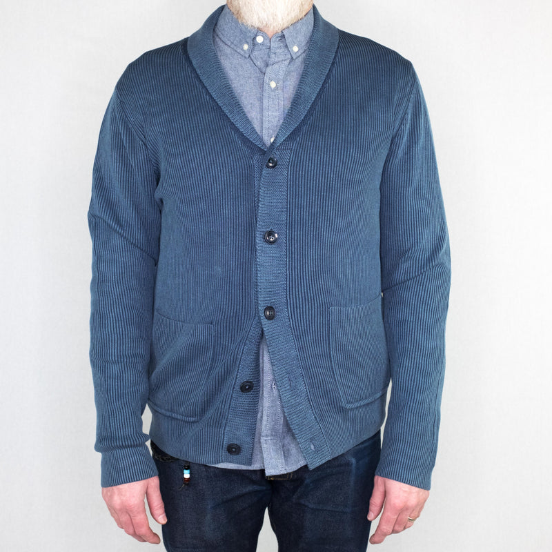 Life After Denim - Yucatan Cardigan Blue Agave - Foundry Mens Goods